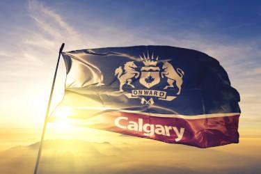 City Of Calgary Flag